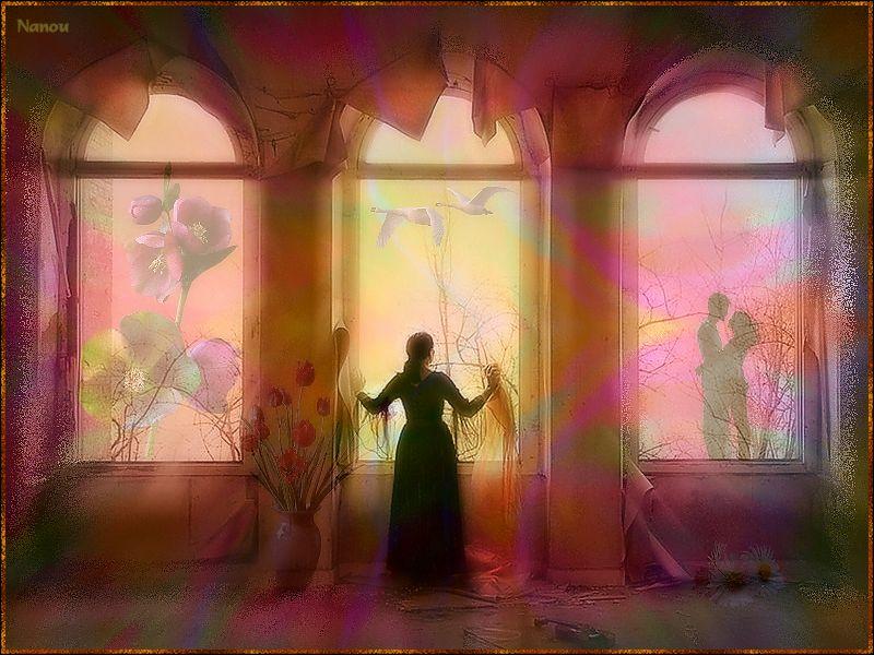 [Poésie] Femme à sa fenêtre...
